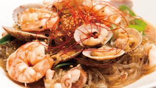 海鮮チャプチェ