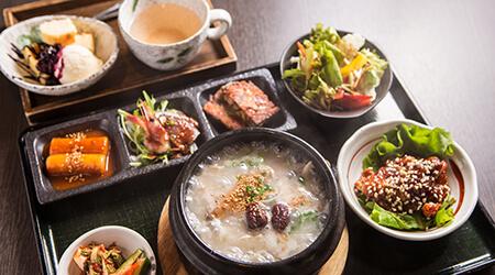 参鶏湯(サムゲタン)セット